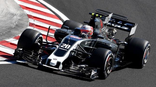 Kevin Magnussen Ungari GP-l