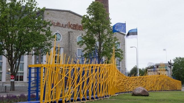 Eesti eesistumise peastaap on Kultuurikatlas. Õhtuleht