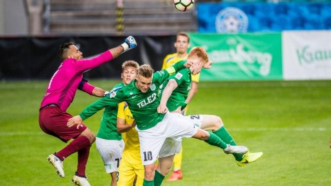 FC Flora pidi vaatamata marulisele algusele alla vanduma NK Domžalele
