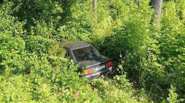 Avarii Viljandimaal mavere--Viljandi--Karksi-Nuia maantee 27. kilomeetril 10. augustil 2017. Juht jäi ellu.