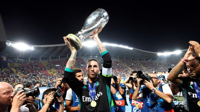 Tänavu võitis UEFA superkarika Madridi Real.