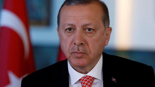 Türgi president Recep Tayyip Erdoˇgan.