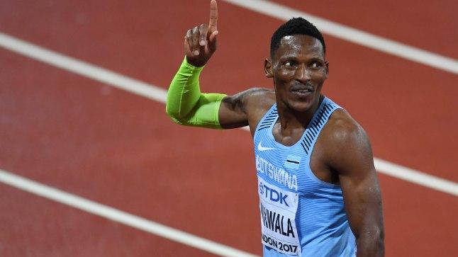 Botswana veerandmailer ja sprinter Isaac Makwalat ei lubatud 400 meetri finaalis noroviiruse tõttu starti, kuigi mehe sõnul oli ta täiesti terve.