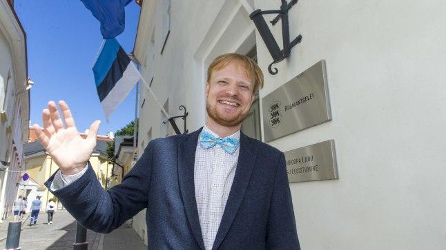 TERE TULEMAST! Saksamaalt pärit, kuid Eestis elav Tobias Johannes Koch hoolitseb, et kõik Eesti külalised oleksid rahul.