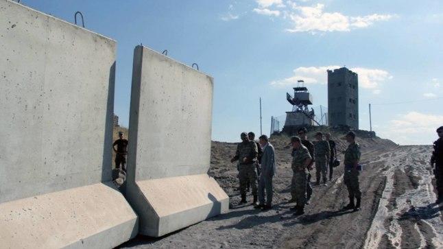 Türgi-Iraani piirile ehitatakse turvatara.