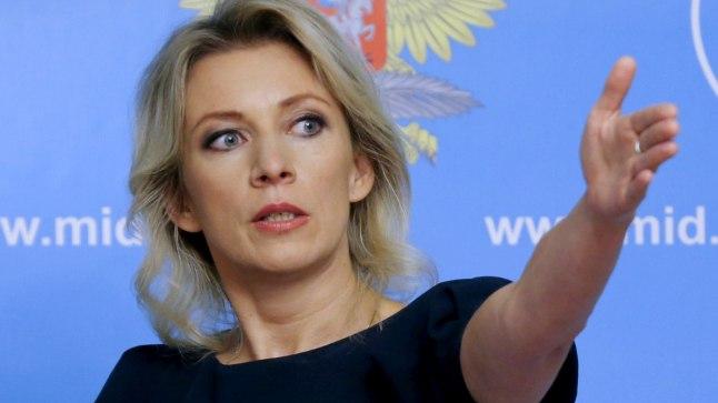 Vene välisministeeriumi ametlik esindaja Marija Zahharova
