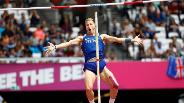 Janek Õiglane kordas teivashüppes isiklikku rekordit.