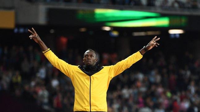 Käed taeva pool - Usain Bolt võttis spordist maksimumi.