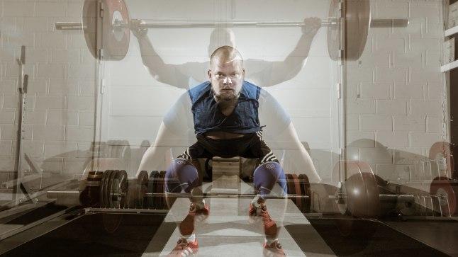 SIHT SILME EES: Tõstja Mart Seim treenib usinalt, ta soovib MMil edukalt esineda.