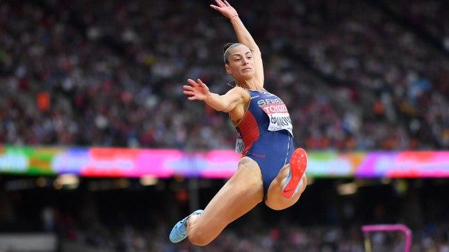 Ivana Španovicilt röövis suure tõenäosusega medali kehvalt kinnitatud number.