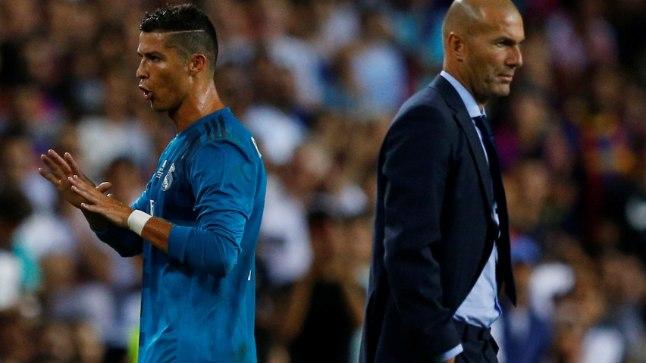 Zinedine Zidane'l on pärast Cristiano Ronaldo eemale jäämist mõtlemisainest küll.