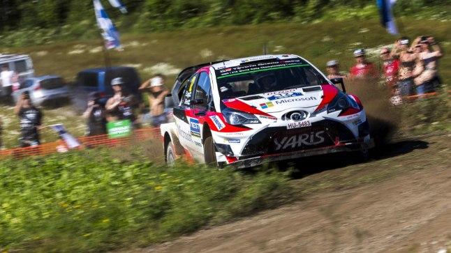 Toyotale Soome ralli esikoha toonud Esapekka Lappi.