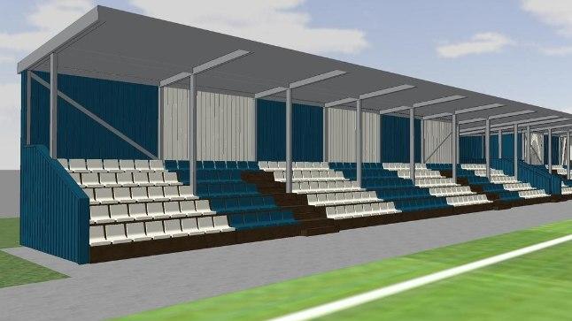 Sepa jalgpallikeskuse tribüün saab kuu aja pärast endale hädavajaliku katuse.