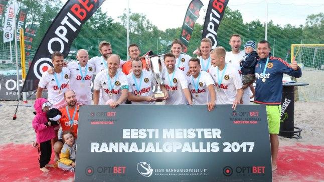 Eesti rannajalgpalli meistrivõistluste viimane etapp.