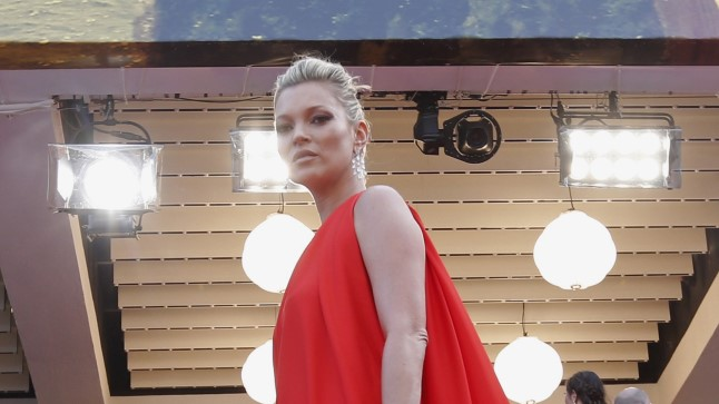 Modell Kate Moss.