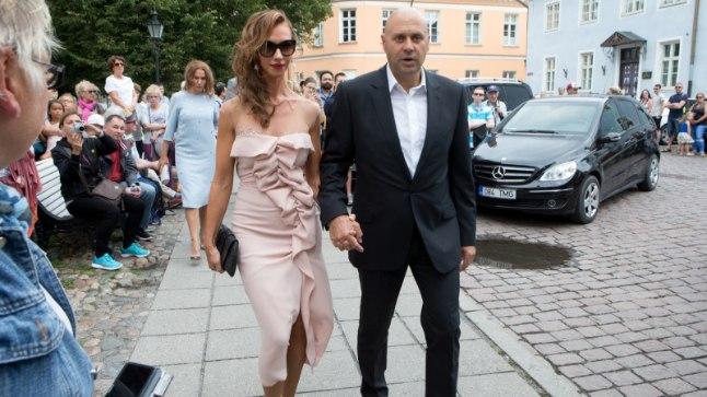 Taavi ja Luisa Rõivas laulatus, Kristina Viirpalu