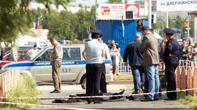 ISLAMIRIIGI TERRORIST? Politsei on kurjategijast jagu saanud. Seda, kas tegu oli terroriaktiga, tuleb uurijatel veel selgitada.