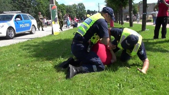 Eesti politsei in action