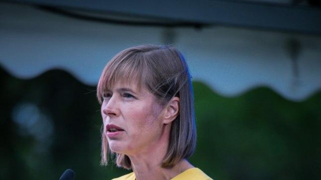 GALERII | President Kersti Kaljulaidi esimene taasiseseisvumispäeva vastuvõtt