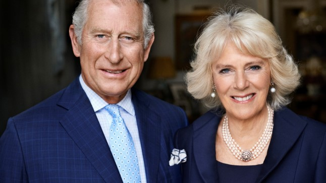 Prints Charles ja tema abikaasa, Cornwalli hertsoginna Camilla