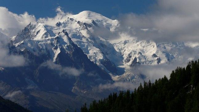 Mont Blanc Šveitsi poolt vaadatuna.