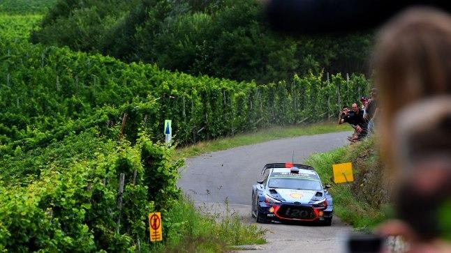 Thierry Neuville'i Saksamaa ralli ebaõnnestus.