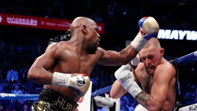 Floyd Mayweather Jr. vs Conor McGregor.
