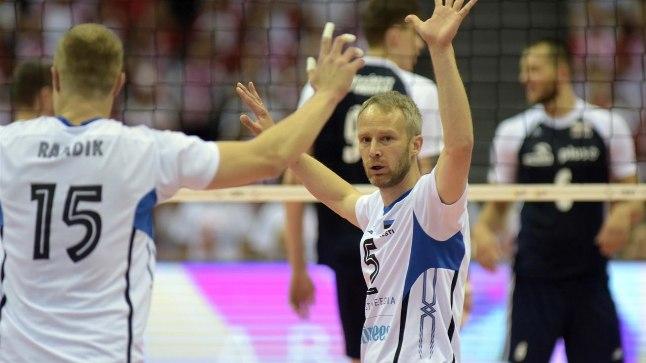 Eesti kapten Kert Toobal loodab, et inimesed võrkpallikoondises ei pettunud.