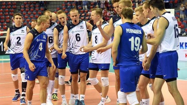 Soome võrkpallikoondis.