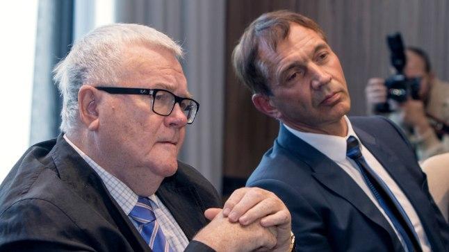 Edgar Savisaar ja Urmas Sõõrumaa moodustasid ühise valimisliidu. Suur küsimus on selles, kas nad moodustavad pärast valimisi koalitsiooni Keskerakonnaga.