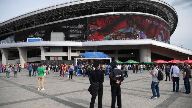 Jalgpalli MMi üks staadionitest Kaasanis.