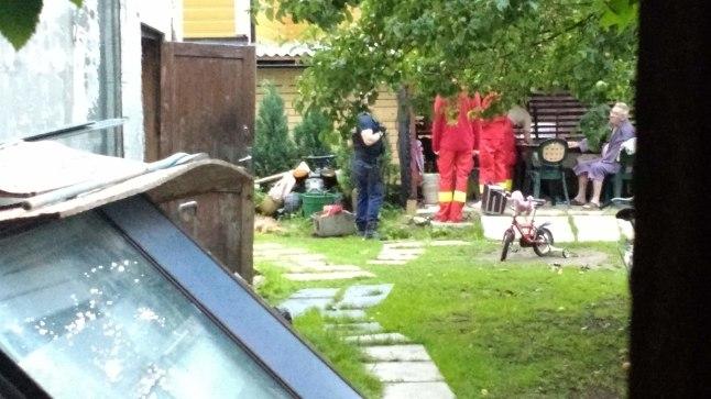 Politsei tõttas loetud minutitega naisele appi