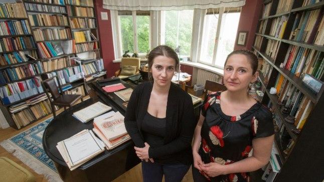 TAGASELJA TULNUD ÜLLATUS: Kadri-Ann Sumera (paremal) ei osanud aimatagi, et ta võiks kandideerida sügisel toimuvatel valimistel Edgar Savisaare nimekirjas.