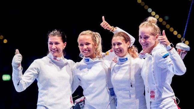 TIPUS: Eesti naiskond koosseisus Julia Beljajeva, Erika Kirpu, Irina Embrich ja Kristina Kuusk alistasid tänavu MMi finaalis Hiina ning tulid maailmameistriteks.
