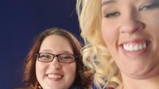"Mama June ja tema 17-aastane tütar Lauryn ""Pumpkin"" Shannon"