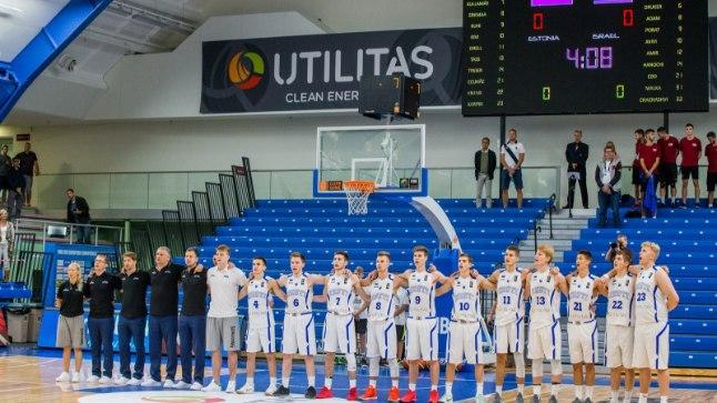 U18 korvpallikoondis.