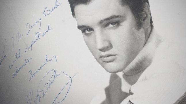 Elvise ja Pricilla Presley häärber.