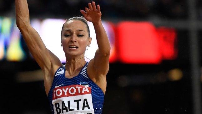 Ksenija Balta hüpped ei kandunud Londonis loodetud kaugusele.