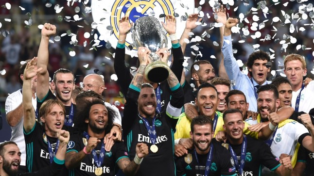 Real Madrid vs Manchester United Skopjes.
