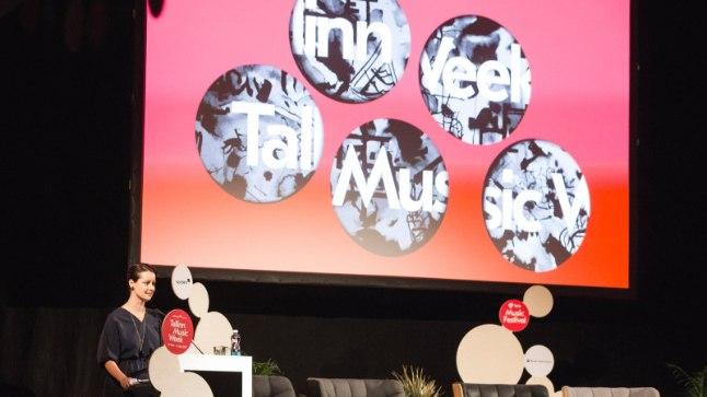 HELEN SILDNA Tags: Helen Sildna, TMW, Tallinn Music Week, Vene Kultuurikeskus, konverents