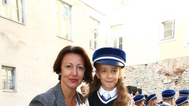 Oksana Tandit ja tütar Frida.