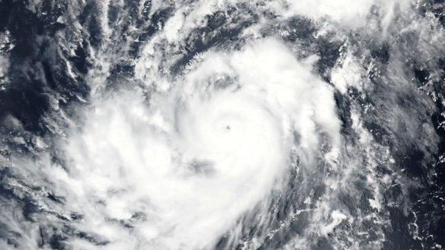 Satelliitfoto orkaan Irmast.