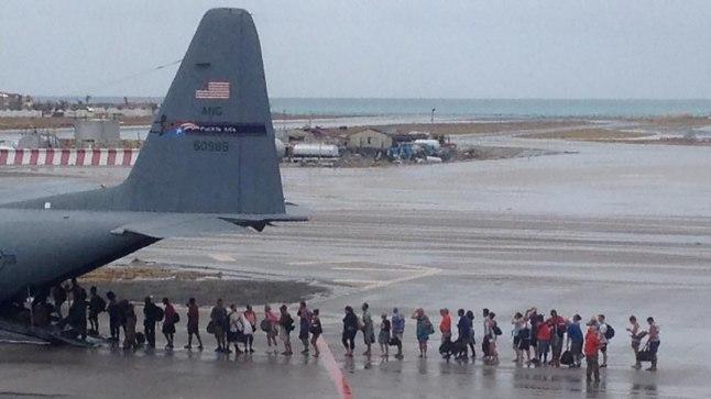Evakueeritavad Puerto Ricos