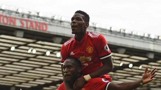 STAARDUO: Manchester Unitedi Romelu Lukaku (all) ja Paul Pogba (peal) on sel hooajal näidanud resultatiivset mängu. Punaste Kuradite - nii fännid Manchesteri klubi kutsuvad - toetajad loodavad, et belglane ja prantslane on heas hoos ka Meistrite liigas.