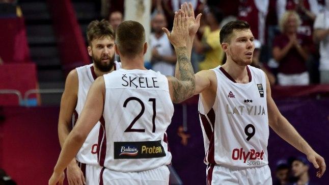 Läti korvpallikoondis jahib kohta kaheksa parema seas.