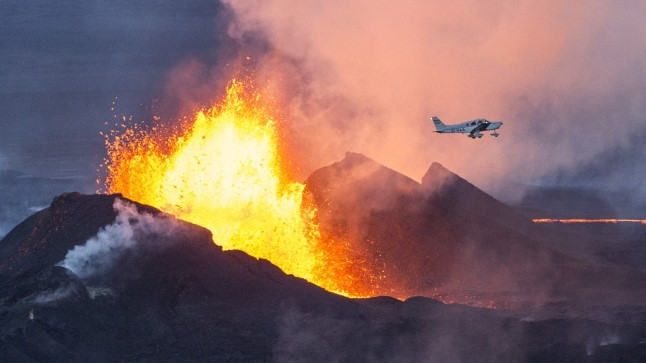 2000-meetrine Bardarbunga vulkaan Islandil.