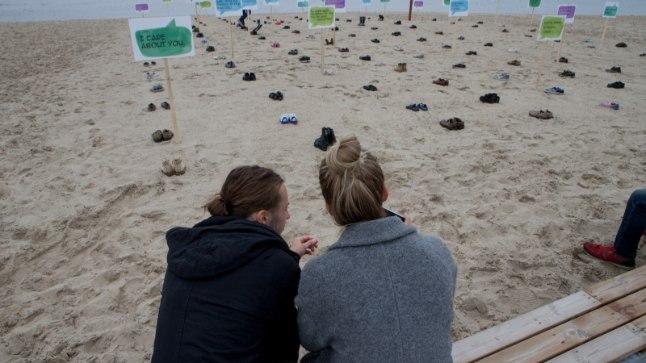 Suitsiidiennetuspäev Stroomi rannas.