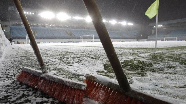 Meistrite liiga jalgpall, Venemaa ja lumi - kes neid suudaks lahutada!