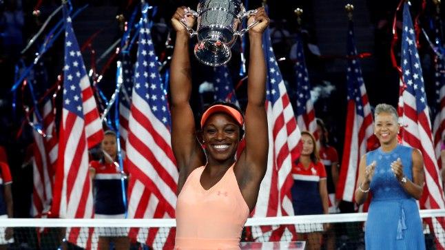 TŠEMPION! USA lahtised võitnud Sloane Stephensi varasem parim tulemus Suure slämmi turniirilt pärines 2013. aastast, kui ta jõudis Austraalias poolfinaali.