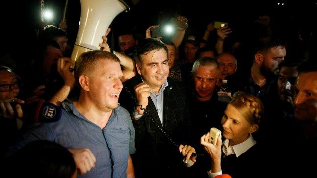 Mihhelil Saakašvili naases Ukrainasse